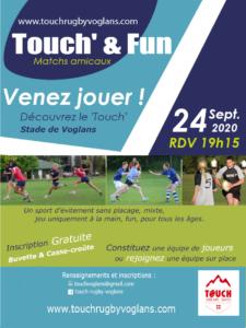 Tournoi Touch & Fun - Découverte du touch rugby